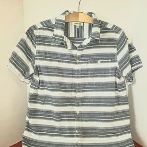 Boys Flannel Button Down Shirt